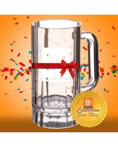 Celebration Beer Mug