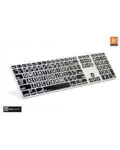 LargePrint White on Black - Mac Advanced Line Keyboard